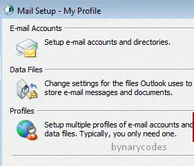 Create Microsoft Outlook Profile and Mail Configuration