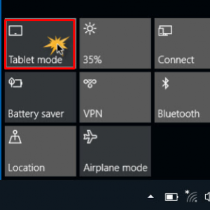 How to Enable or Disable Tablet Mode in Windows 10