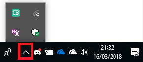 OneDrive Icon is missing from Taskbar in Windows 10 - Taskbar icons