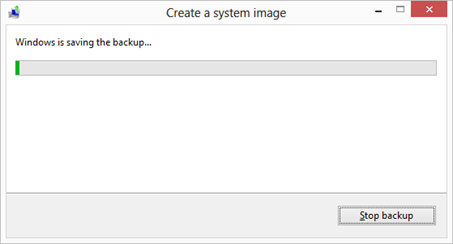 How to create a system image on Windows 10