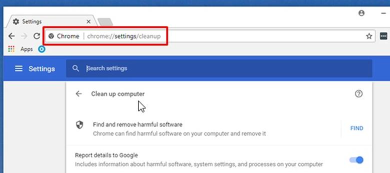 How to use Chrome Malware Cleanup Tool