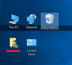 How to change the icon size and text size in Windows 10