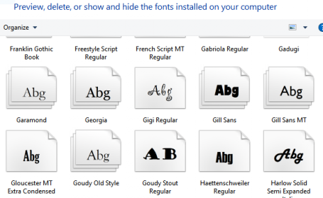 How to change the default fonts in Windows 10 - BynaryCodes