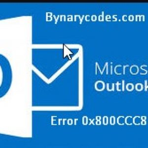 Outlook email sending reported unknown error 0x800CCC81