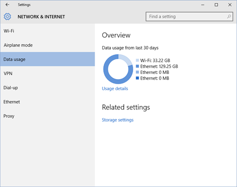 Windows 10, Windows 8.1, network, wireless, ethernet, internet, metered, connection, usage