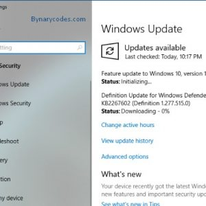 Windows 10 update version 1809 available for download