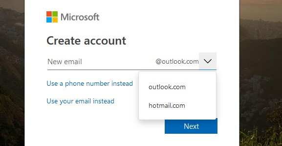 C:\Users\Canous\Desktop\Screenshot\OneDrive new email or existing email.jpg