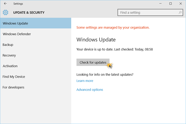 How to install Windows 10 update version 1903 - Knowledge Base
